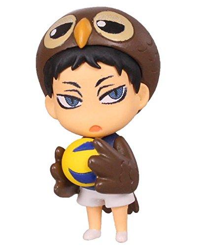 Amazon.com: Haikyuu akaashi Swing Figura llavero ~ Keiji ...