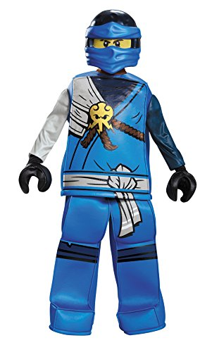 UHC Boy's Jay Prestige Ninjago Lego Kids Outfit Halloween Costume, S (4-6) for $<!--$55.50-->