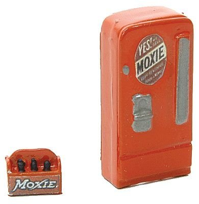 HO Scale Upright Soda Machine w/Case -- ()