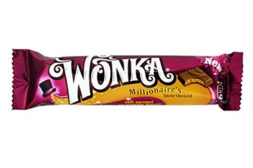 Nestlé Wonka Millionaires Shortbread Chocolate Bar 36 G