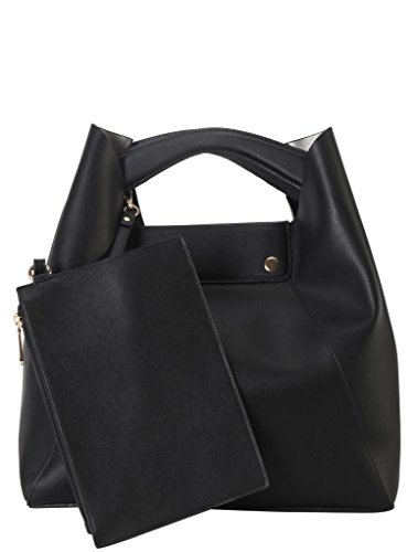 diophy-pu-leather-top-handle-handbag-accented-with-small-matching-purse-womens-purse-st-6016