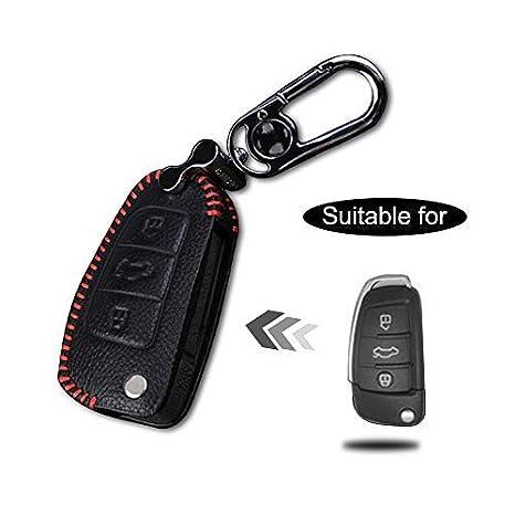Carcasa Cuero para Llave Audi Llave Control Remoto Plegable ...