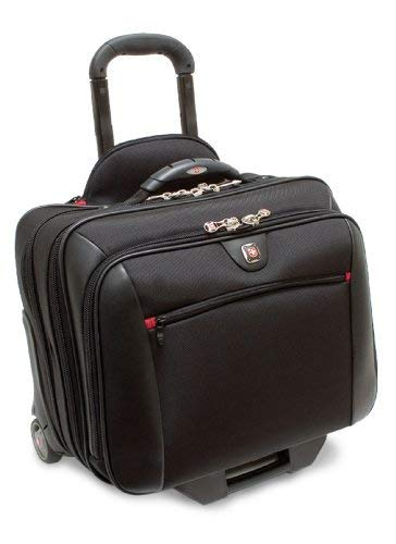 POTOMAC from SwissGear by Wenger Computer Double Gusset Rolling Case Dual Access Rolling Computer Case