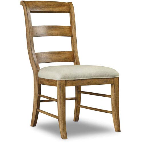 Hooker Furniture Archivist Armless Dining Chair in Toffee by Hooker Furniture