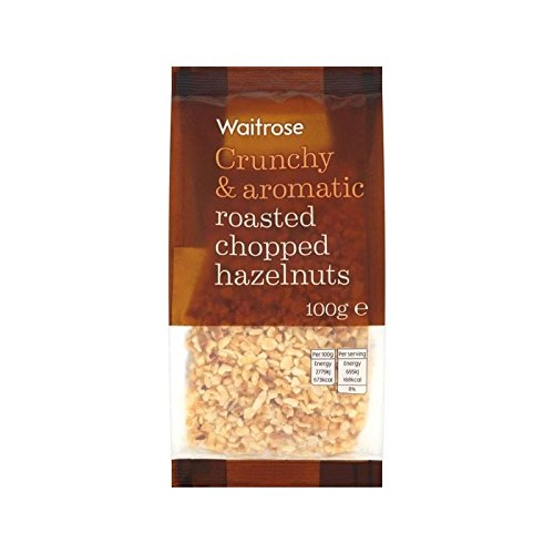 Roasted Chopped Hazelnuts Waitrose 100g - Pack of 2