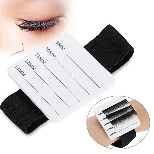 Eyelashes Stand Holder, Eyelash Stand, Eyelash Extension Stand Holder Palette with Belt Eyelash Make up Tool