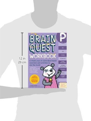 Brain Quest Workbook: Pre-K: Liane Onish: 9780761149613: Amazon ...