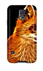 High-quality Durability Case For Galaxy S5(abstract Fractalius)