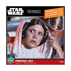 Star Wars Photomosaics - Princess Leia: 1000 Pcs