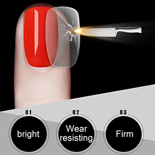 DEESEENail ArtSteel Top Coat Long-lasting Soak-off LED UV Ge
