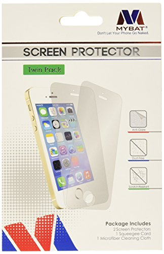 Asmyna LG LS996 G Flex 2 Twin Pack Screen Protector - Retail Packaging - Clear