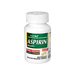HealthA2Z Aspirin 81mg Low Strength, Ent...
