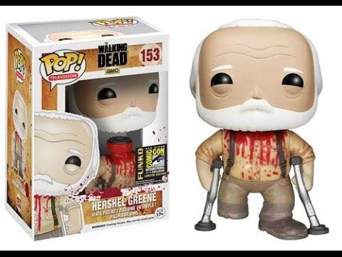 2014 Exclusive Funko Pop Vinyl The Walking Dead Bloody Hershel Greene]()