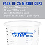 TCP Global 32 Ounce (1000ml) Disposable Flexible