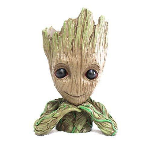 Groot Flowerpot Treeman Baby Groot Action Figures -