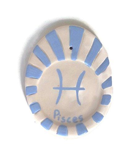 Pisces incense holder, oval icense stick holder ()