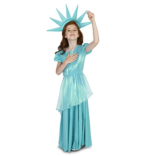 Statue of Liberty Child Dress Up Costume M (8-10) ()