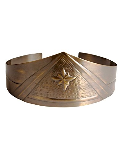 [Wonder Woman Metal Costume Crown (One Size)] (Movie Star Costumes For Couples)
