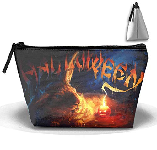 Halloween Rabbit Cosmetic Bag Trapezoidal Strorege Bag Creative Cosmetic Pouch ()