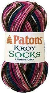 Kroy Socks Yarn-Burnished Sierra Stripes