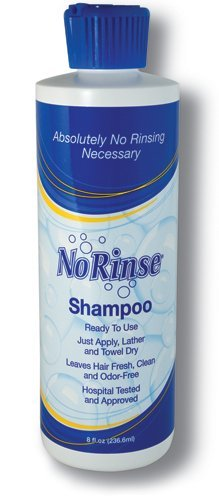 SPECIAL PACK OF 3-No-Rinse Shampoo 8oz by Marble Medical