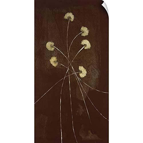 CANVAS ON DEMAND Night Blossoms II Wall Peel Art Print, 38