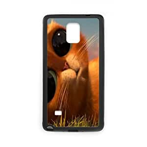 Elaboration Case Puss in Boots For Samsung Galaxy Note 4 N9100 NC1Q02643