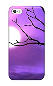 ZippyDoritEduard Case Cover Protector Specially Made For Iphone 5/5s Pretty Moon And Twig