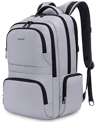 KUPRINE Travel Anti Theft Slim Durable Laptop Backpacks for Women Mens Lightweight Water Resistant College Computer Backpack Fits Most 15.6 Laptop & Tablet -