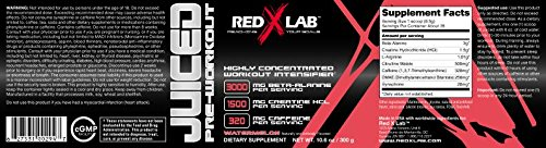 Red X Lab Juiced PreWorkout Watermelon 300 g