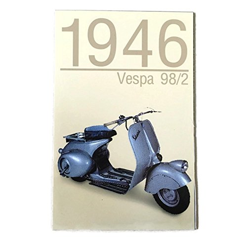 Agility Vespa 98/2 (1946 Year) Motorcycle Art 1 Collectible Vintage Photo Fridge Magnet