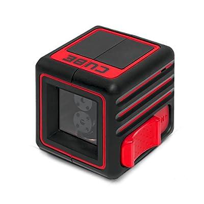 ADA Cube, Laser Level, Crossline Self-Leveling Laser Level, 20 meters (65 feet) Horizontal and Vertical Lines.