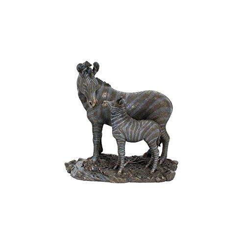 (Unicorn Studios WU74802A4 Elephant and Baby Elephant Sculpture)
