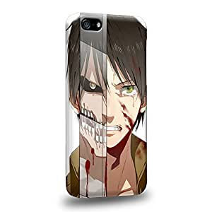 Case88 Premium Designs Attack on Titans Elen Yeager Protective Snap-on Hard Back Case Cover for Apple iPhone 5c
