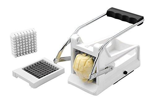 Gourmia GCU9245 Fry Cutter Potato With 2 Also Use More,White