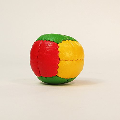 Zeekio Galaxy Juggling Ball Gift Set- 3 Juggling Balls - Yellow/Red/Green-Rasta by Mediatic Labs (Image #1)