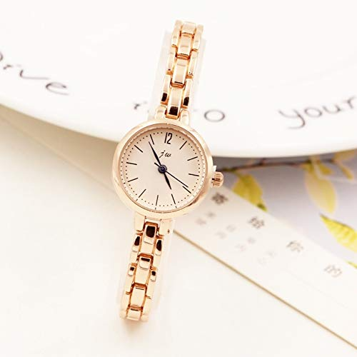 (Unique Women Gift Casual Fashion Chain Bracelet Bangle Watch Women Girls high School Students Waterproof Quartz Watch Creative Girl (d80 Green)