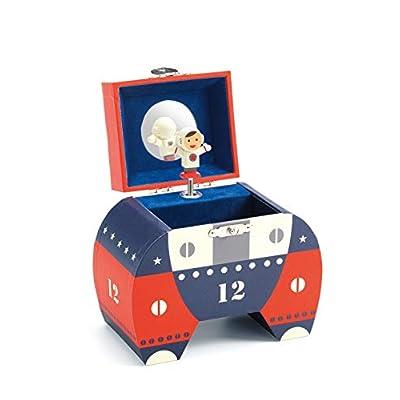 DJECO Polo 12 Wood Treasure Box: Toys & Games