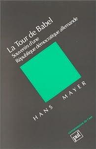 La tour de Babel par Hans Mayer