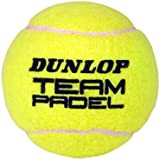 Dunlop Team Padel Balls - Multicoloured, Size 3 by Dunlop