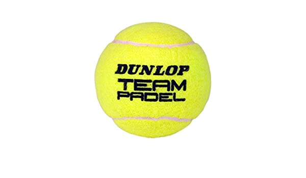 Amazon.com : Dunlop Team Padel Balls - Multicoloured, Size 3 ...