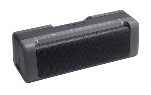 JAM Party Wireless Boom Box, Delivers Superior Bass Performance, Perfect for Parties, Connect to iPhone, Android, Portable, Handle for on-the-go use, 30ft Range, HX-P730GY Grey