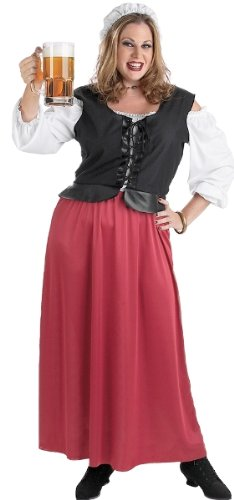 Disguise Tavern Wench Plus-Size (18-20) Halloween