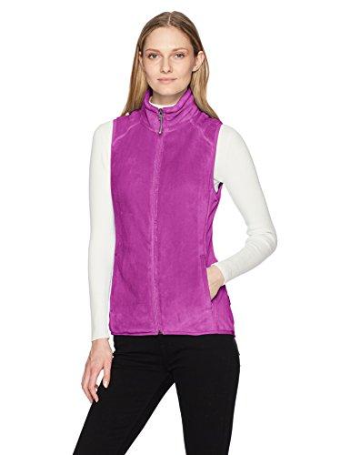 White Sierra Cozy Fleece Vest II, Clover, Medium (2 Womens Fleece Vest)