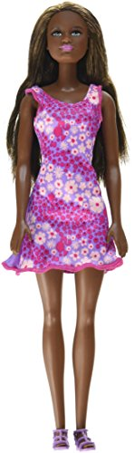 Barbie Doll - Lavender Background Dress