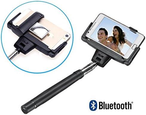 Monopod Palo Selfie con disparador bluetooth y espejo para ...