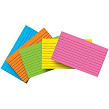 Top Notch Teacher Products Blank Index Cards - 4 X 6 Inch - 100 Count