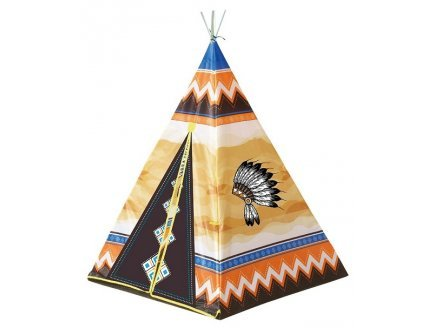 Kinder Abenteuer Zelt Spielzelt Wigwam Kinderzelt Tipi Indianerzelt 95x95x130