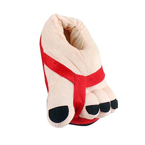 Chaussures Unisex Pantoufle Confortables Chaussons d'int Peluche en et Rigolos Hiver Chauds YOUJIA pIqnWUvwdd