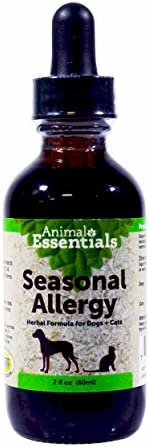 Animal Essentials Seasonal Allergy Herbal Formula for Dogs Cats 2 fl oz